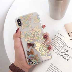 NEW iPhone 12/11/Pro/Max/XR rose case